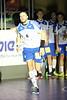 3. 10. 2015 - Handball - HLA, Handball Liga Austria, HC Fivers Margareten vs HC ece bulls Bruck  in Sporthalle Margareten, Vienna, Austria . Image shows Milan Mirkovic (HC ece bulls Bruck) .Foto: GEPA Pictures / Gerald Fischer