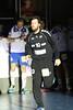 3. 10. 2015 - Handball - HLA, Handball Liga Austria, HC Fivers Margareten vs HC ece bulls Bruck  in Sporthalle Margareten, Vienna, Austria . Image shows Luka Marinovic (HC ece bulls Bruck) .Foto: GEPA Pictures / Gerald Fischer