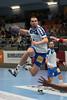 3. 10. 2015 - Handball - HLA, Handball Liga Austria, HC Fivers Margareten vs HC ece bulls Bruck  in Sporthalle Margareten, Vienna, Austria . Image shows Deni Gasperov (HC ece bulls Bruck) .Foto: GEPA Pictures / Gerald Fischer