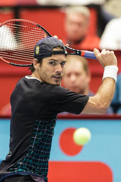 VIENNA,AUSTRIA,21.Oct.2015 -  TENNIS - ATP - Erste Bank Open 500. Image shows Tommy Haas (GER). Foto: GEPA Pictures / Gerald Fischer