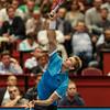 VIENNA,AUSTRIA,21.Oct.2015 -  TENNIS - ATP - Erste Bank Open 500. Image shows Kevin Anderson (RSA). Foto: GEPA Pictures / Gerald Fischer