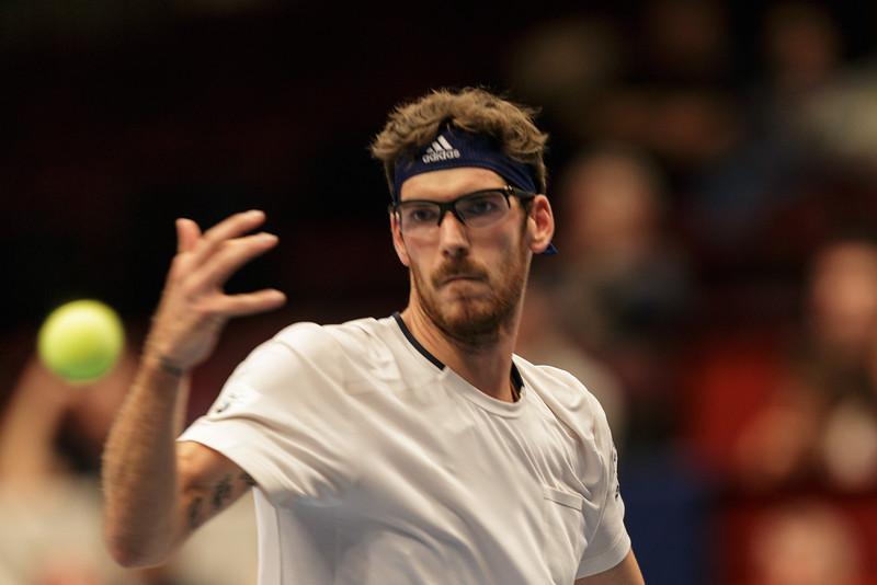 VIENNA,AUSTRIA,19.Oct.2015 - TENNIS - ATP Tour, Erste Bank Open 500. Image shows Gerald Melzer (AUT). Foto: GEPA Pictures / Gerald Fischer