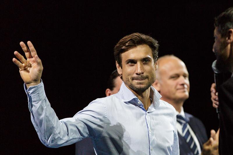 VIENNA,AUSTRIA,19.Oct.2015 - TENNIS - ATP Tour, Erste Bank Open 500. Image shows David Ferrer (ESP). Foto: GEPA Pictures / Gerald Fischer