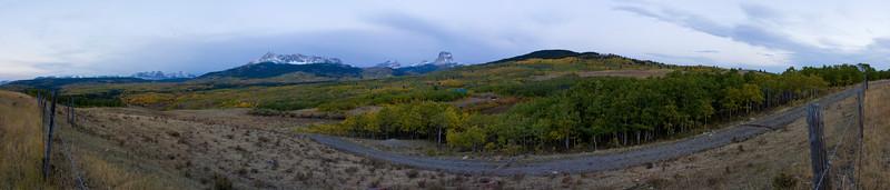 Chief Mountain Road Panorama