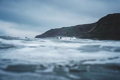 15 May 2021 - Surfing Cayton Bay
