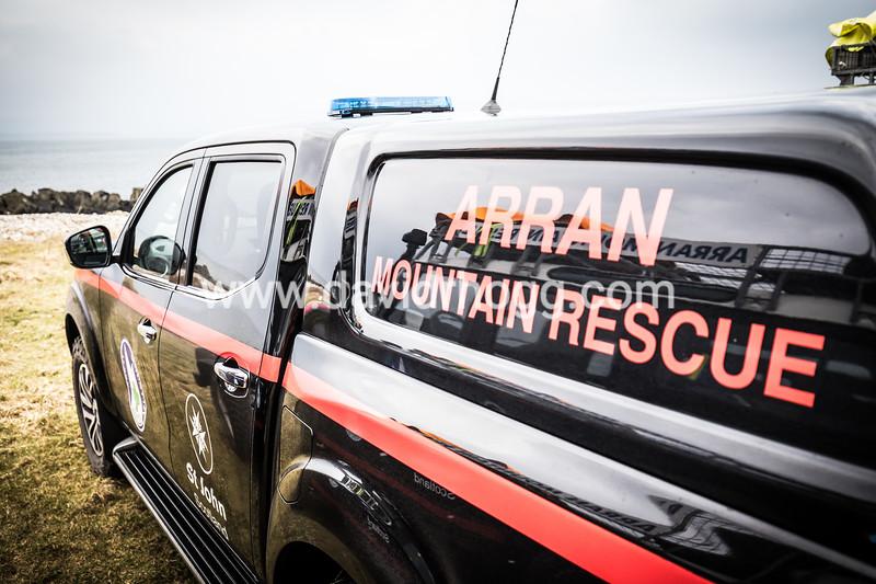 Training today with #arranmrt #mountainrescue #arran #isleofarran