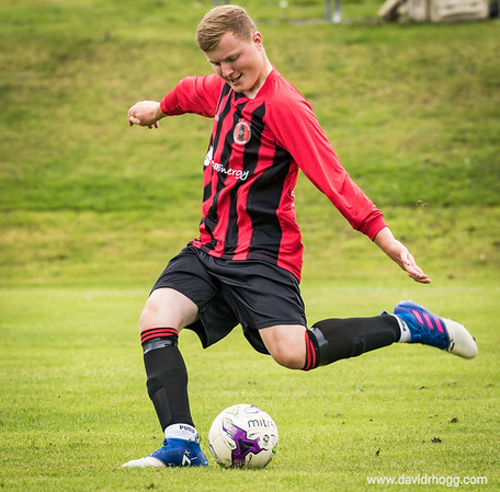 Great first home game for Arran's new island football team today at the Ormidale Pavilion.  @aadammcnicol features in this shot.  More to follow soon, the full set will be published to my portfolio site (link in bio), hopefully by later this evening.