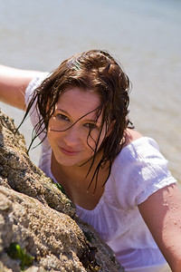 On location with Claire on the Isle of Anglesey
