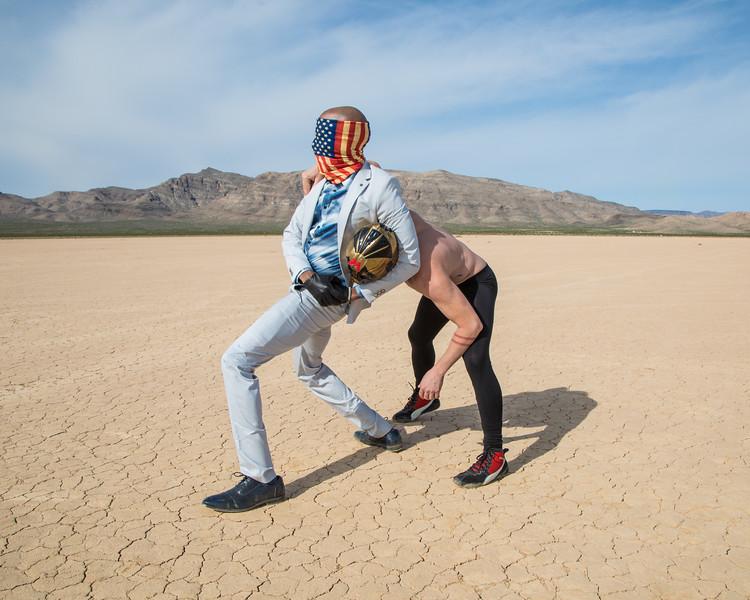 Restrained - Desert Standoff
