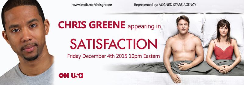 Chris Greene Satisfaction Promo