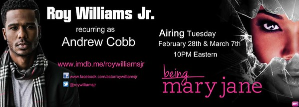 Roy Williams - Being Mary Jane promo