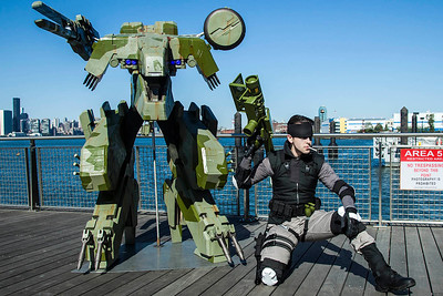 Metal Gear REX & Solid Snake