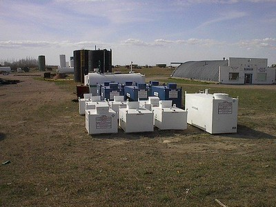 Waste Oil Tanks