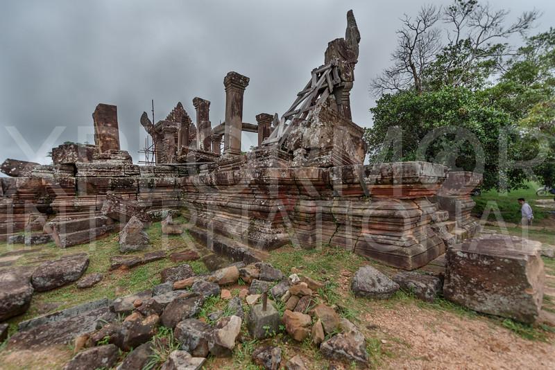 West Entrance, Gopura Five, Preah Vihear, Cambodia