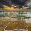 Sunset on Playa las Tumbas