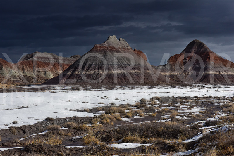 Tepees of the Petrified Forest