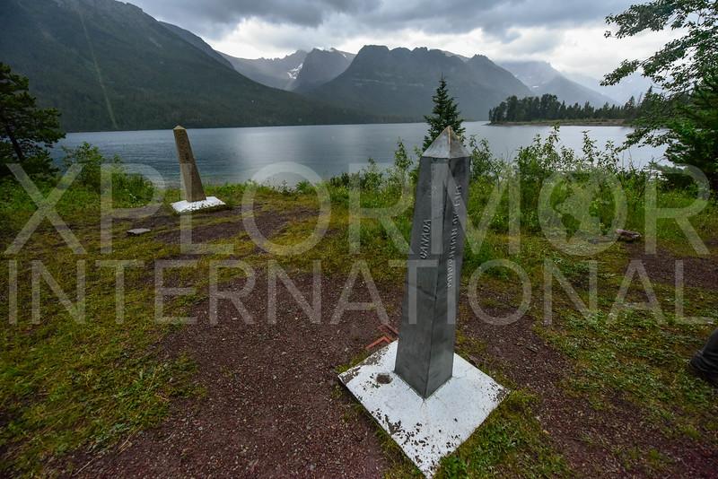 Glacier-Waterton International Boundary Marker II