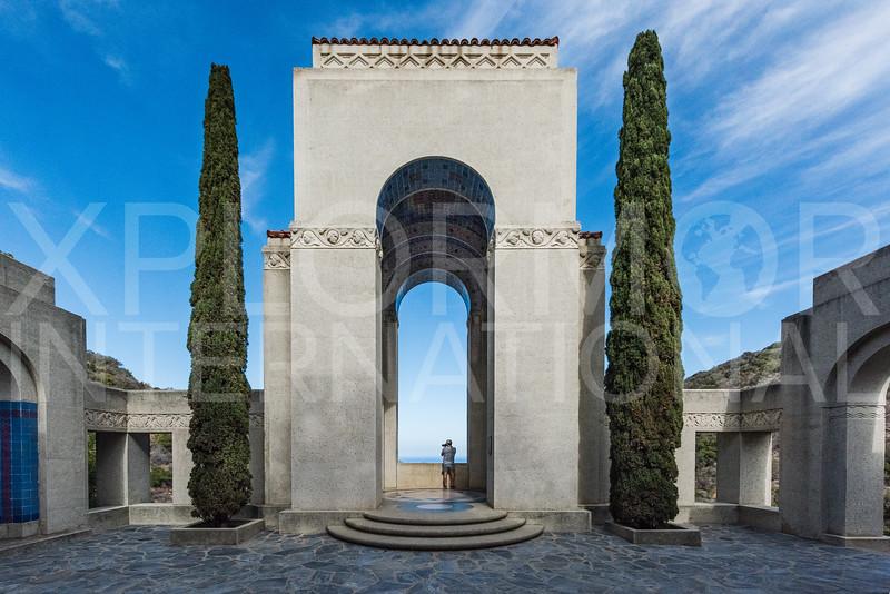 Wrigley Memorial on Catalina IV