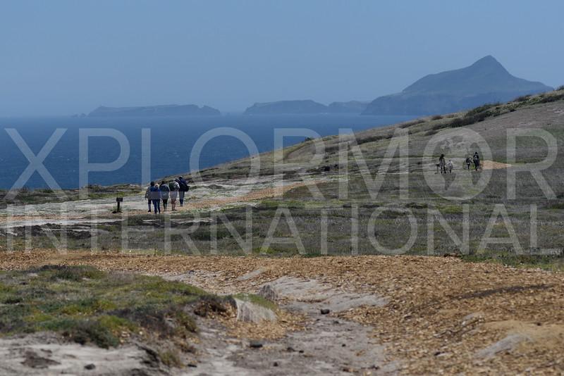 Looking out at Anacapa Island