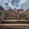 Climbing Wat Bakong