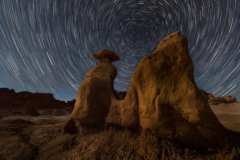 Goblin Star Trails