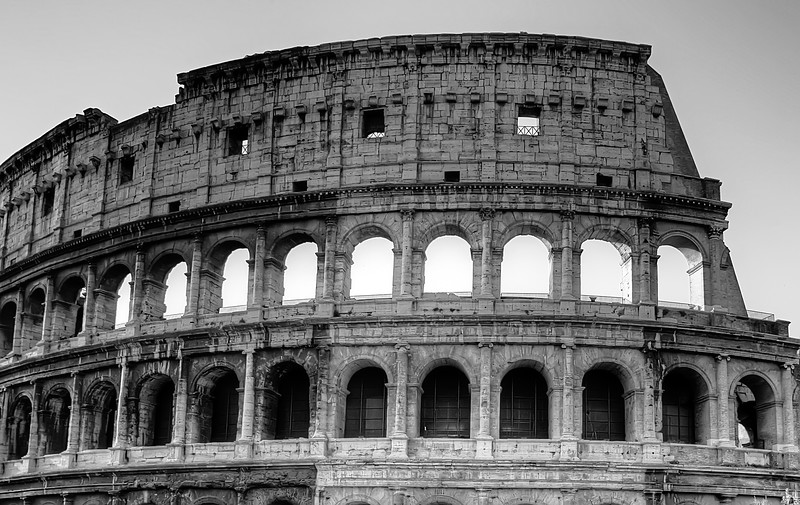 ColosseumDaytime B&W onone7 final