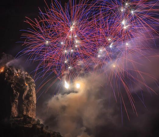 Positano Fireworks