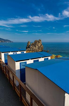 Blue Cabanas