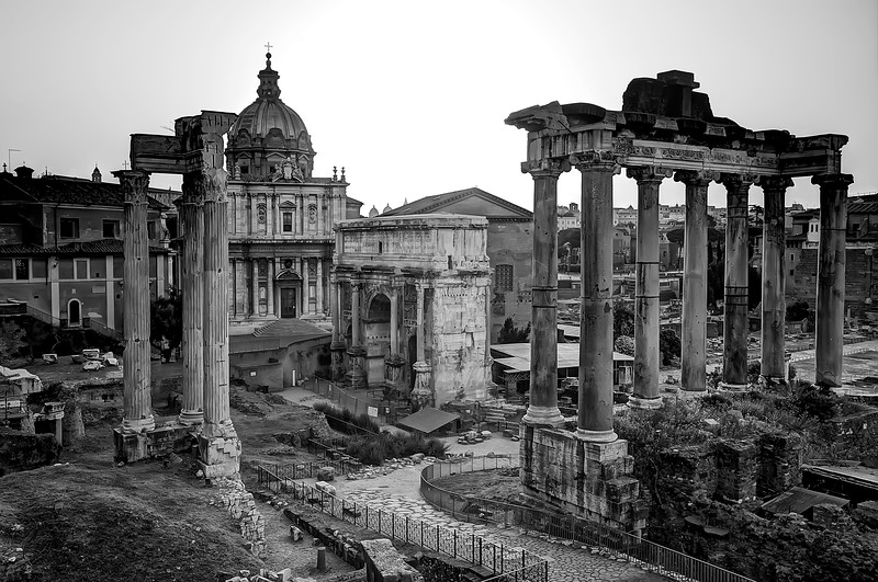 Sunrise at the Roman Forum