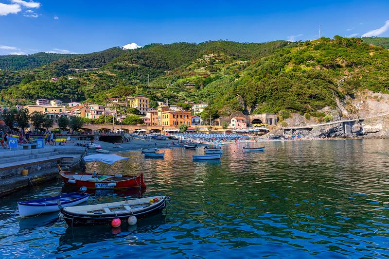 Monterosso Al Mare Harbor