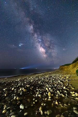 Milky Way Over Montauk
