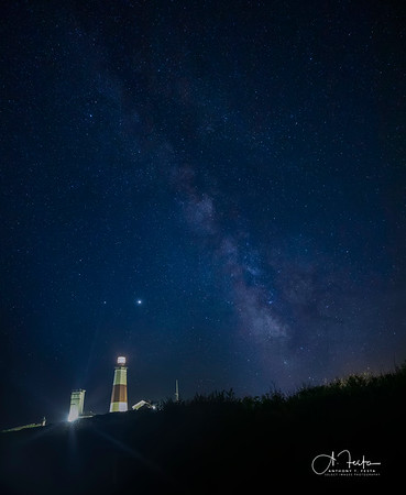 Milky Way Over MTK Lighthouse