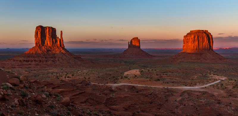 Monument Valley Afterglow