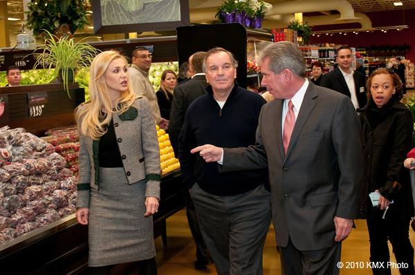 Major Chicago Richard Daley w Shop & Save Market Nr 5