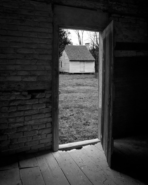 The Overseer Oversen, Horton House from the Slave Quarters