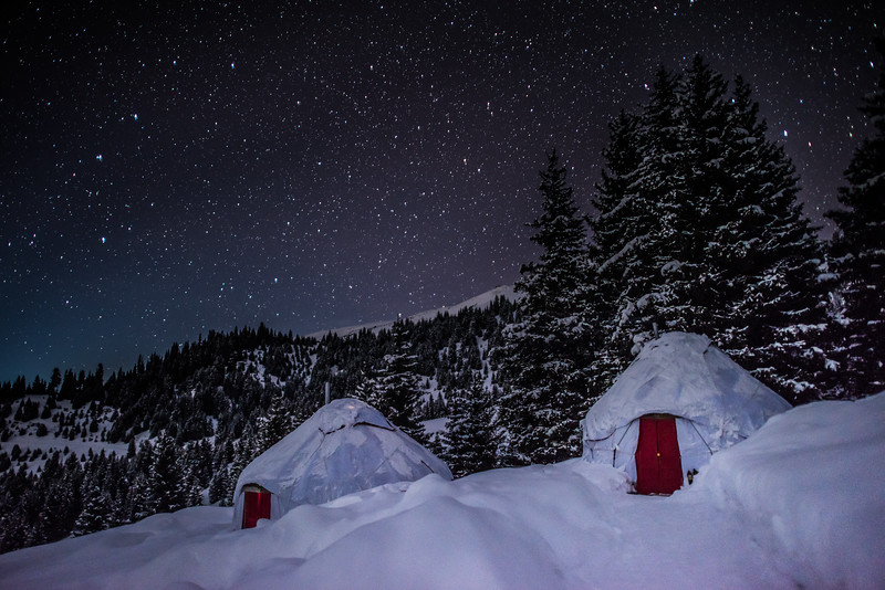 Starry Night at Yurt Camp, Kyrgyzstan