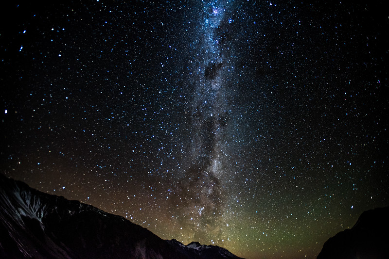 Milky Way in New Zealand