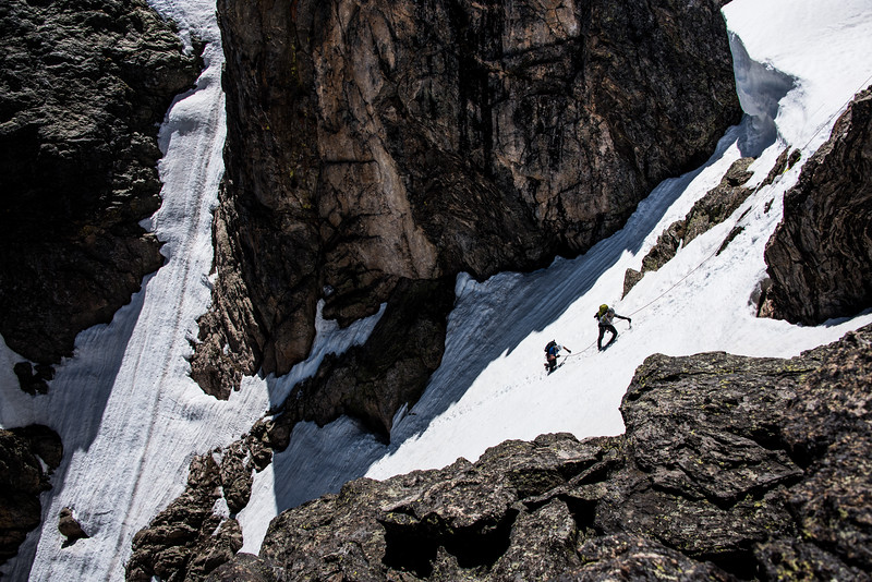Dragon Tail Couloir