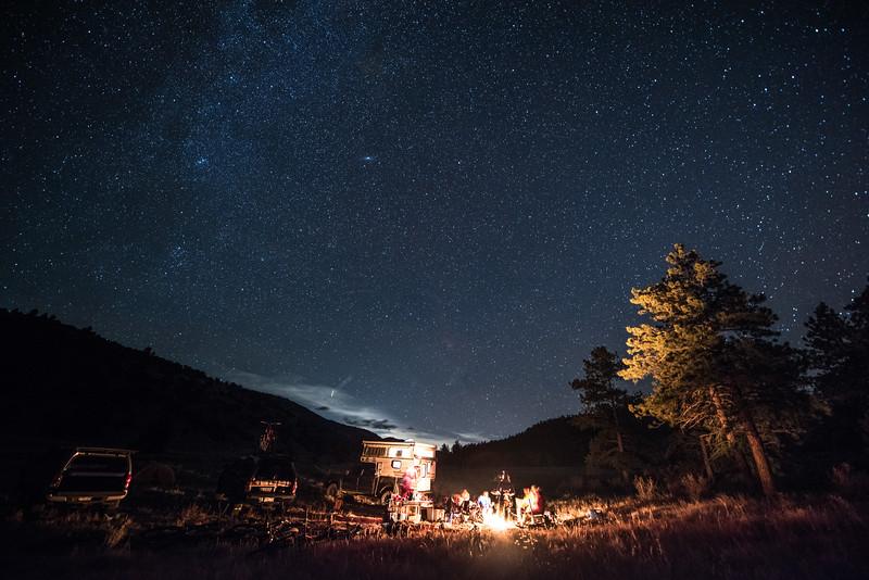 Starry Skies over Salida