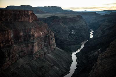 Grand Canyon Sunset from Toroweap Overlook