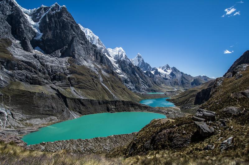 Siula Pass, Cordillera Huayhuash, Peru