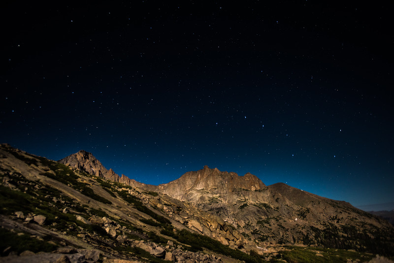 Big Dipper over Glacier Gorge, Rocky Mountain National Park