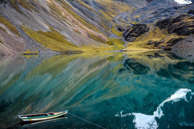 Alpine Lake, Cordillera Real, Bolivia