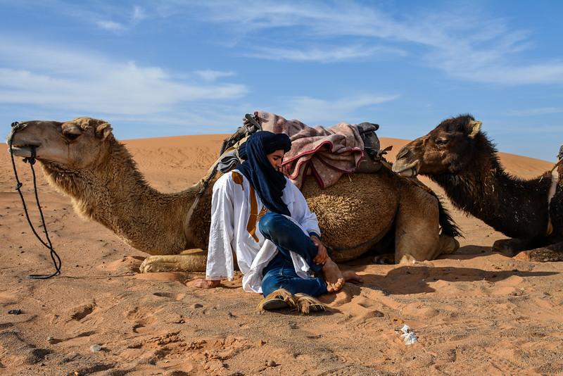 In Berber Country, Morocco