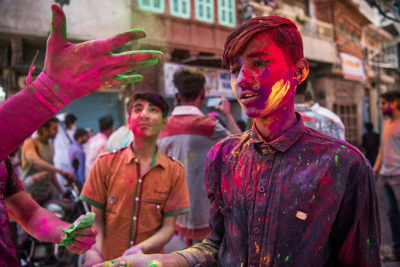The Face of Holi