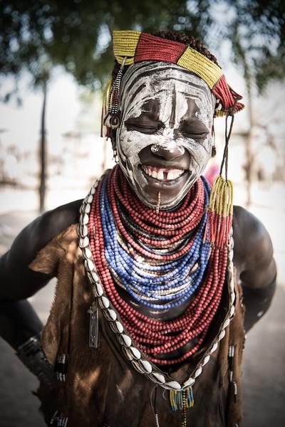 Portrait of a Karo Woman