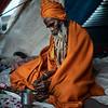 Portrait of a Sadhu