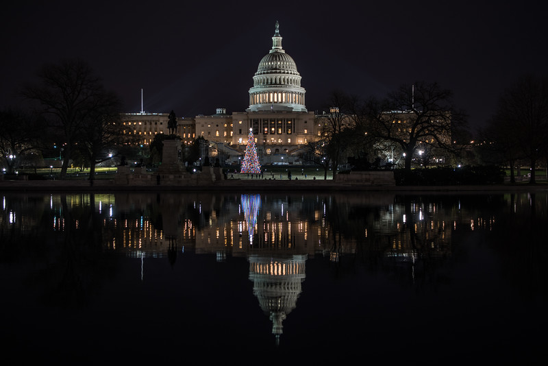 The Capitol at Christmas