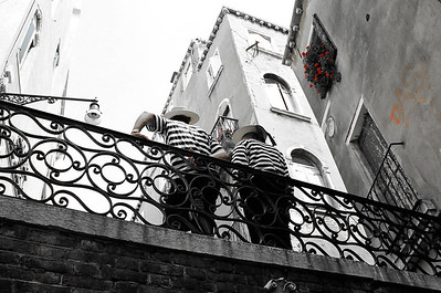 Taking A Break | Venice Gondola Drivers