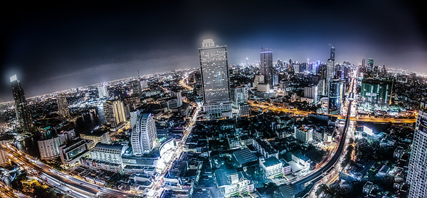 Downtown | View From Ghost Tower | Bangkok
